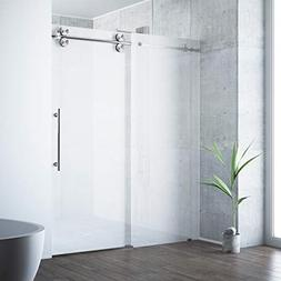 Vigo VG6041STMT6074R Frameless 60 Shower Door Glass Stainles