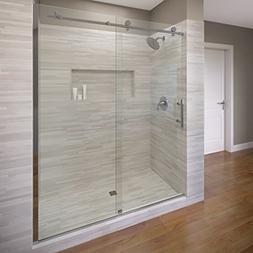 Basco Vinesse Frameless Sliding Shower Door, Fits 45-47 in.