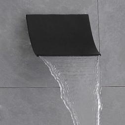 Wall Mount Stainless Steel Bathroom Waterfall Shower Head Sy