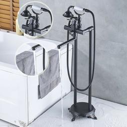 Wall Mounted Bathtub 8'' Shower Faucet Top Rainfall Showerhe