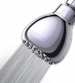 WASSA High Pressure Shower Head - 3 Inch Anti-leak Fixed Chr