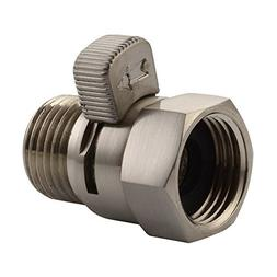 Water Flow Control Valve, Angle Simple Brass Water Pressure