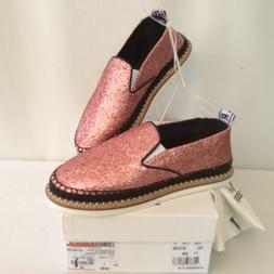 KENZO Womens Glitter Espadrilles Shoes Pink  EUR 38 appr. US